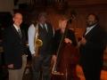 Jazz Sunday, Towson Presbyterian Church, 2014 (left to right: myself, Greg Thompkins, Cyndy Elliott, Chuck Ferrell)