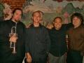 Phil Ravita Quartet, Germano's Trattoria, 2011 (left to right: Brent Madsen, myself, Nucleo Vega, Phil Ravita)