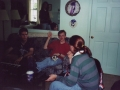 Joseph McCarthy Revival Quintet, 1997 (left to right: Dan Ribaudo, Chris Robson, myself, Adam Jones)
