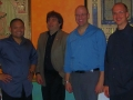 Phil Ravita Quartet, Germano's Trattoria, 2012 (left to right: Tim Powell, Nucleo Vega, Phil Ravita, myself)