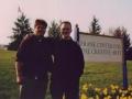 After My Senior Recital, Shepherd University, 2001 (with Adam Jones)