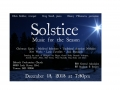 Solstice, Babcock Presbyterian Church, 2013 (with Chris Gekker and Danny Villanueva)